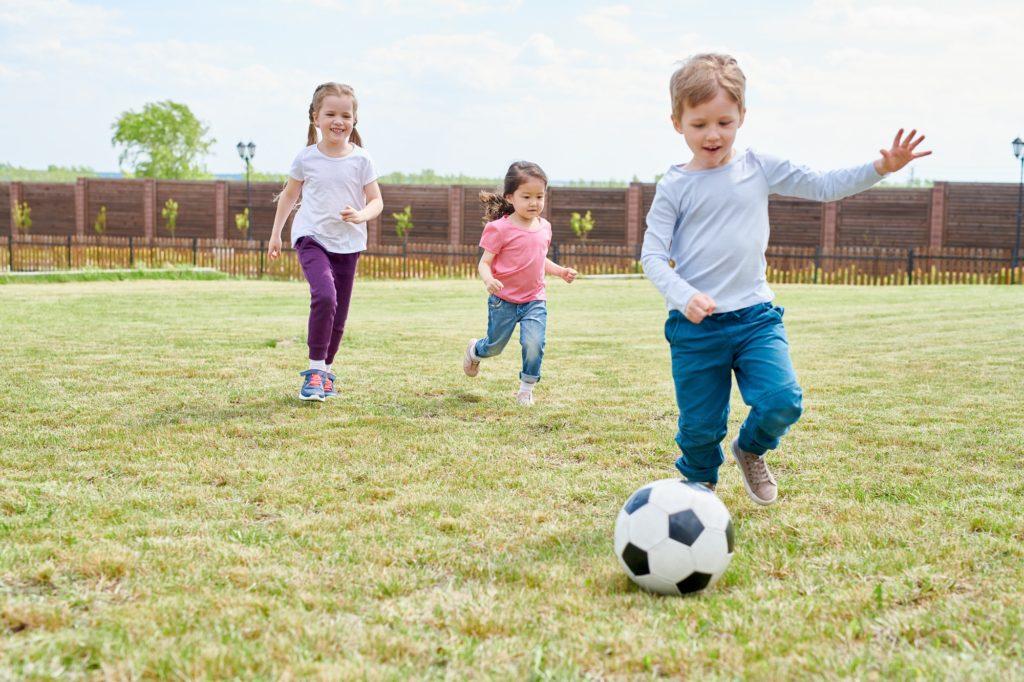 Ideensammlung: Kinder zu Bewegung motivieren