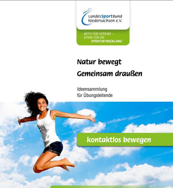 """NEU! Broschüre """"Natur bewegt – Gemeinsam draußen"""""""