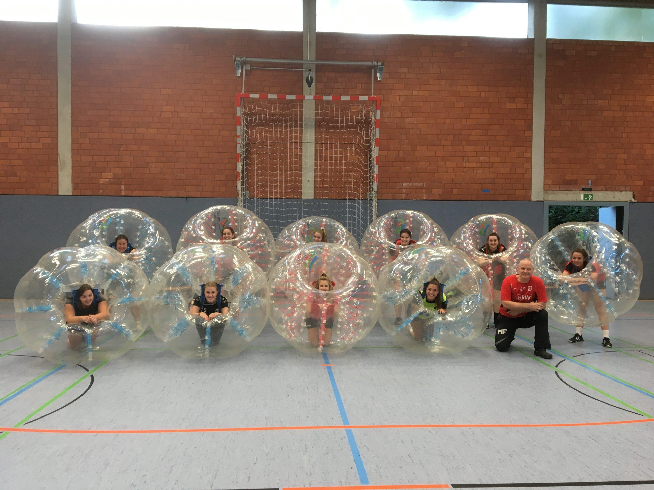 KSB-Bubbles im Einsatz beim TVG