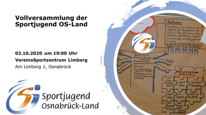 Vollversammlung der Sportjugend Osnabrück-Land