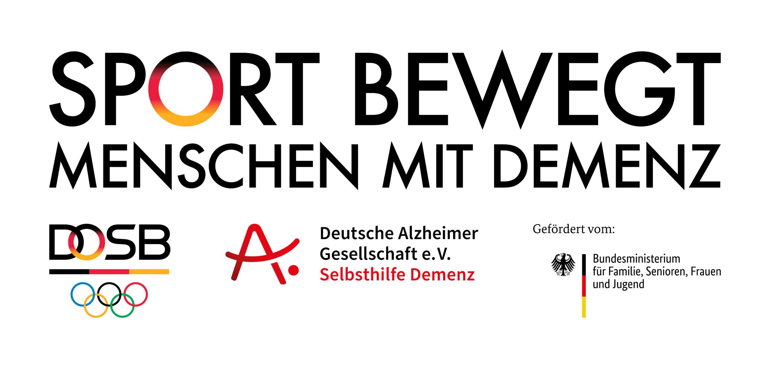 Projekt Sport bewegt Menschen mit Demenz in der Sportregion