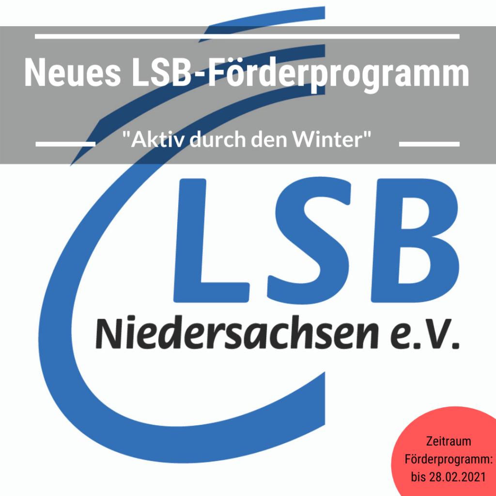 """LSB-Förderprogramm """"Aktiv über den Winter"""""""