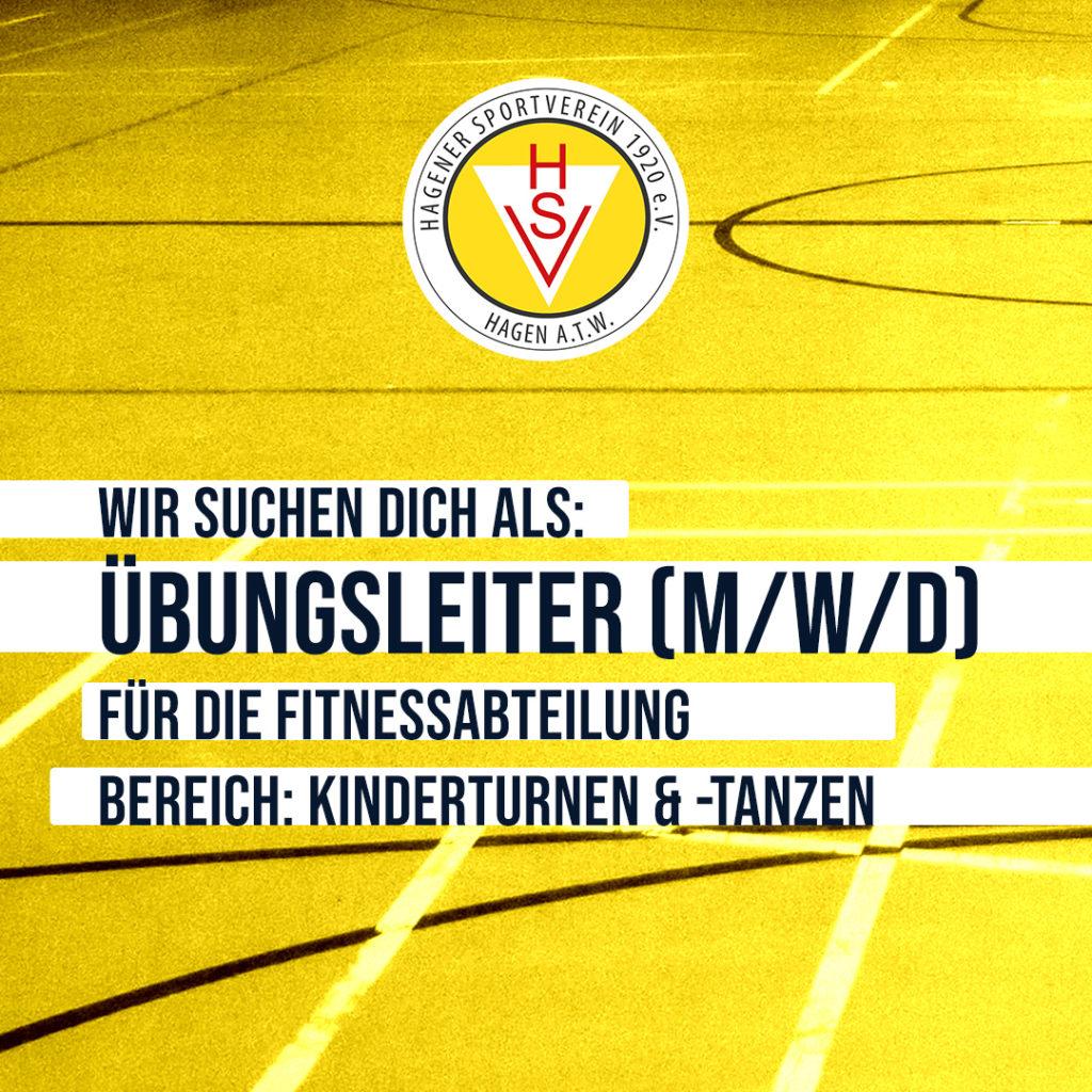 Hagener SV sucht Übungsleiter:innen