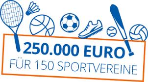 250.000 Euro für den Vereinsnachwuchs
